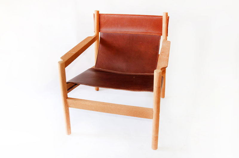 leather sling chairs
